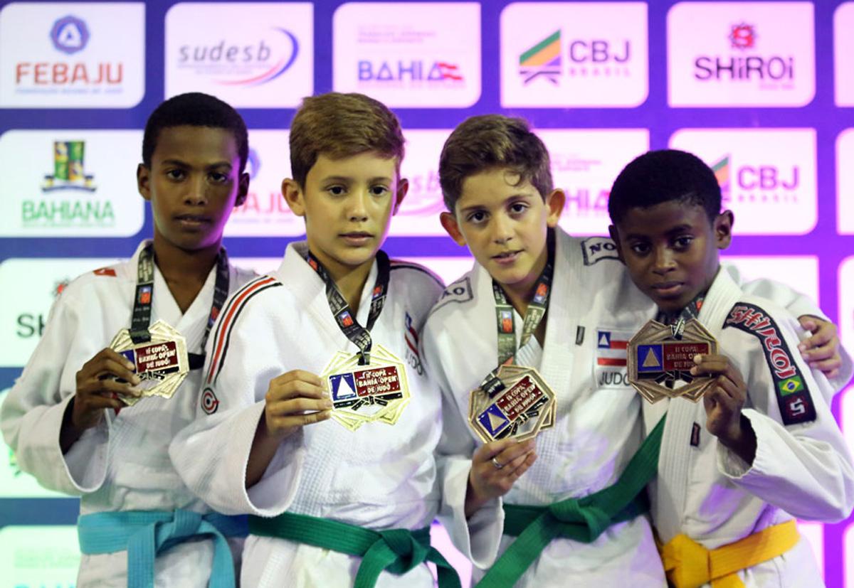 2ª Copa Bahia Open de Judô ratifica a qualidade dos eventos da Febaju