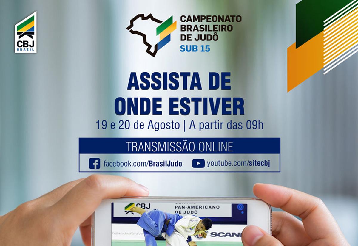 CBJ inova e transmite ao vivo o Campeonato Brasileiro sub 15