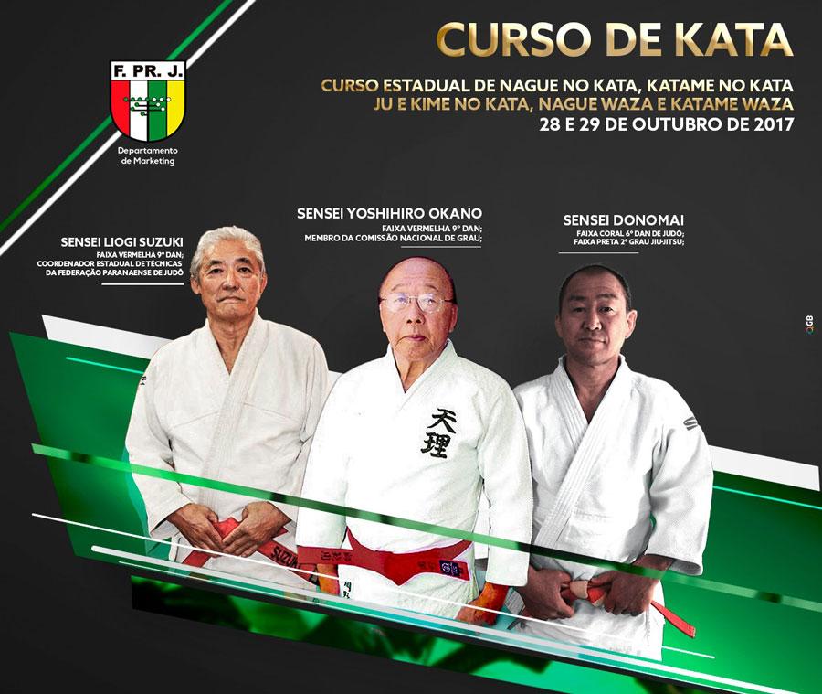 Federação Paranaense de Judô promoverá curso de katas