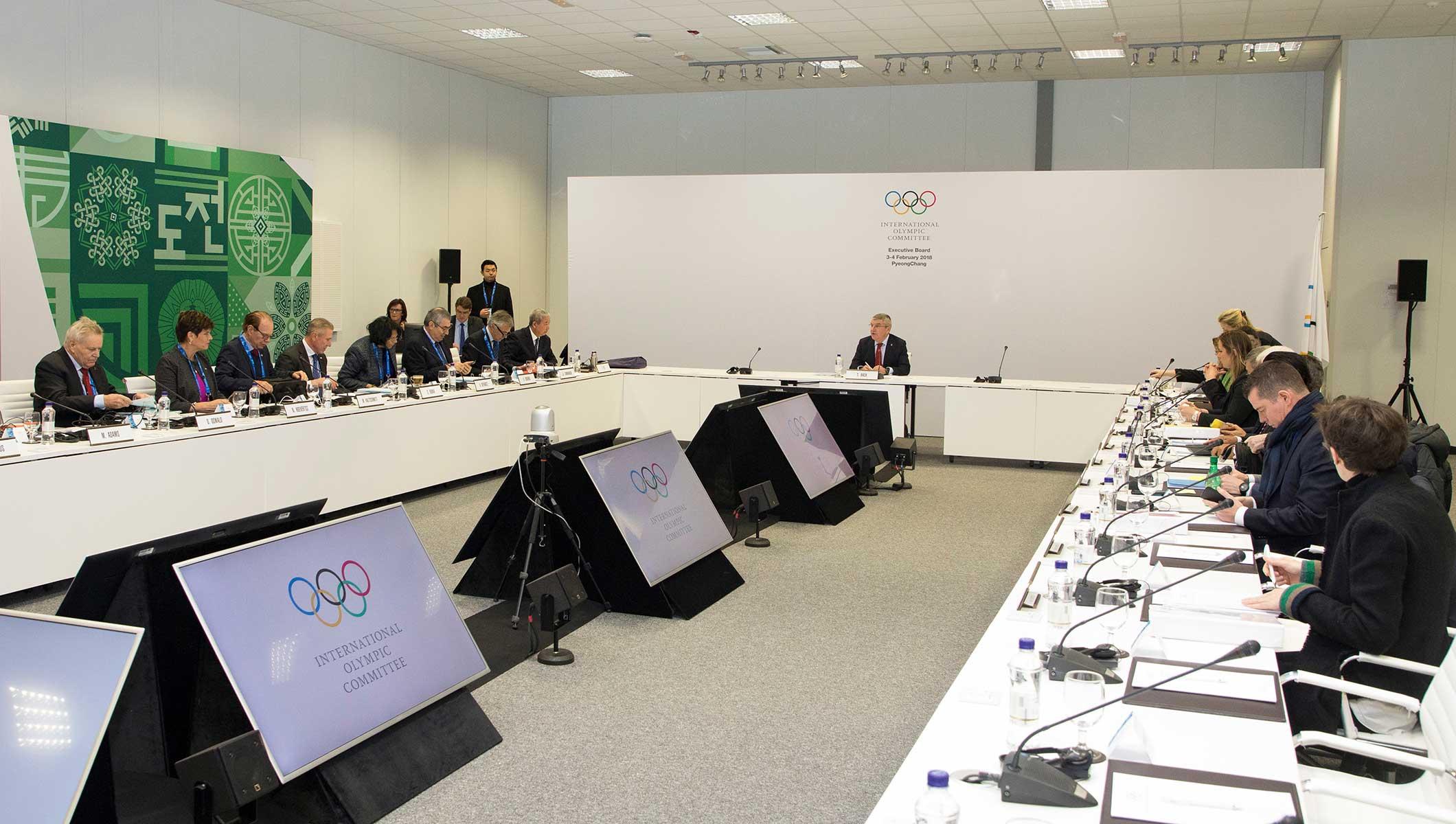 Após reunião em PyeongChang, COI anuncia o fim da suspensão ao COB