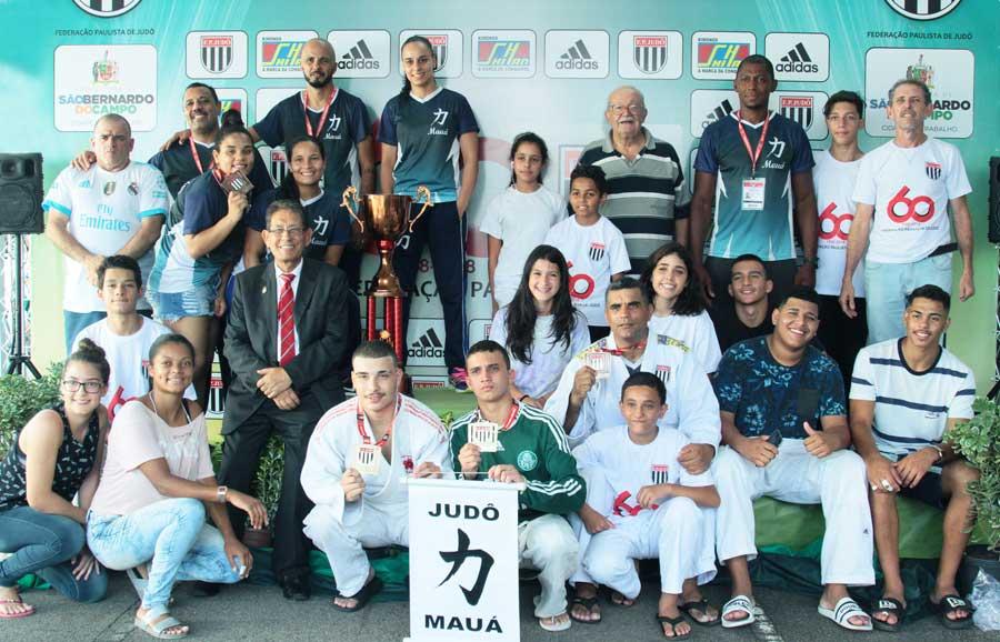 Judô Mauá inicia a temporada no pódio da Copa São Paulo