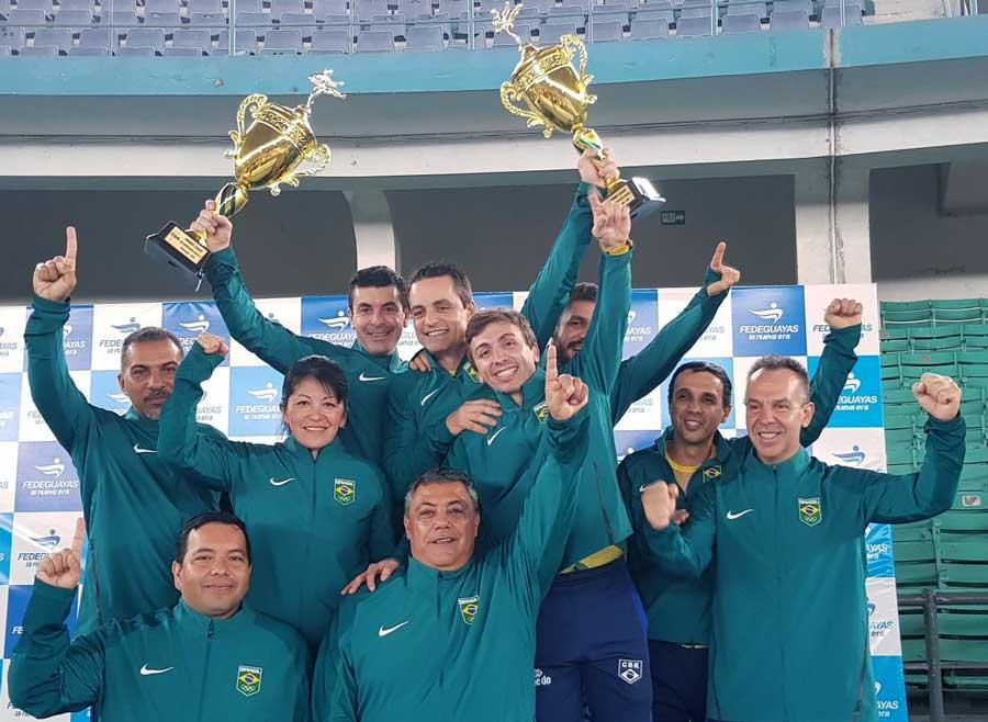 Com garra e determinação, Brasil se impõe e garante tricampeonato Sul-Americano de Karatê
