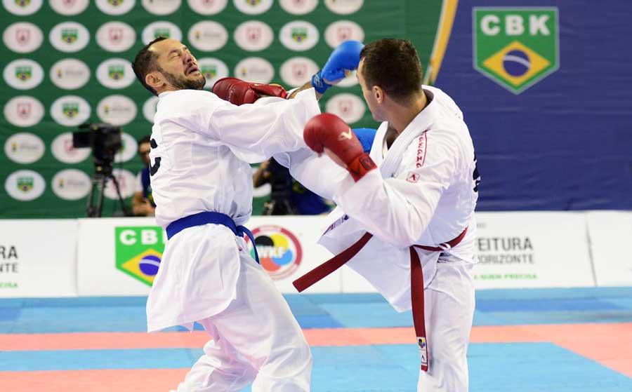 Com espetáculo de Douglas Brose na final, meeting de karatê reúne os principais atletas do Brasil
