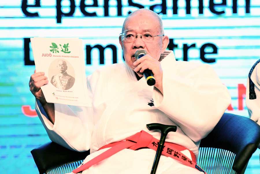 Para Shuhei Okano, o verdadeiro judoca deve dedicar-se ao desenvolvimento humano