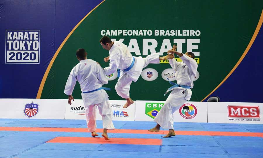 Seleção brasileira de karatê fará treinamento para os Jogos Sul-Americanos em Salvador