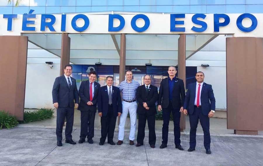 CBJ leva presidentes de federações estaduais a reunião com ministro