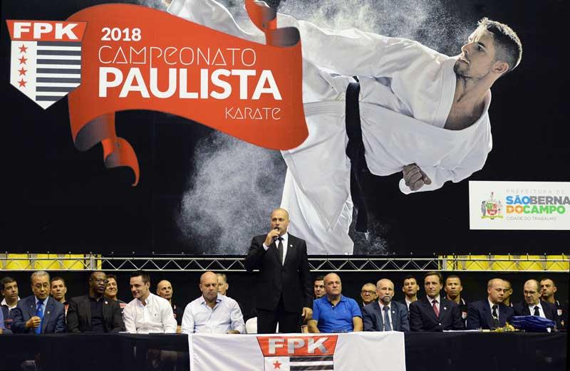 São Bernardo do Campo sedia as finais do Campeonato Paulista de Karatê 2018