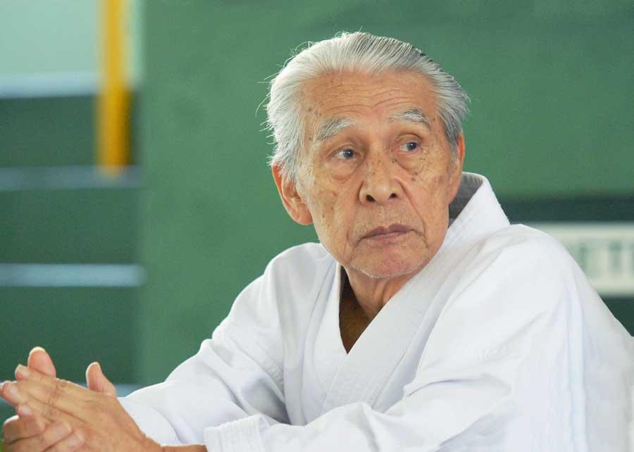 Com a morte de Yasutaka Tanaka, o karatê-dô tradicional mundial perde a sua maior referência