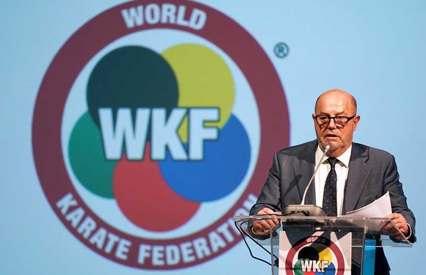 Congresso da World Karate Federation foca o futuro