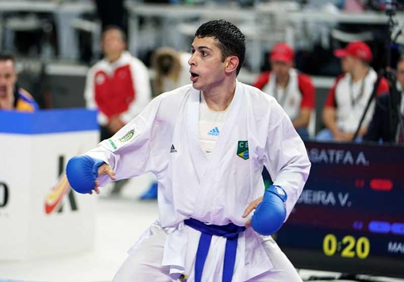 Vinicius Figueira garante vaga na final do Campeonato Mundial