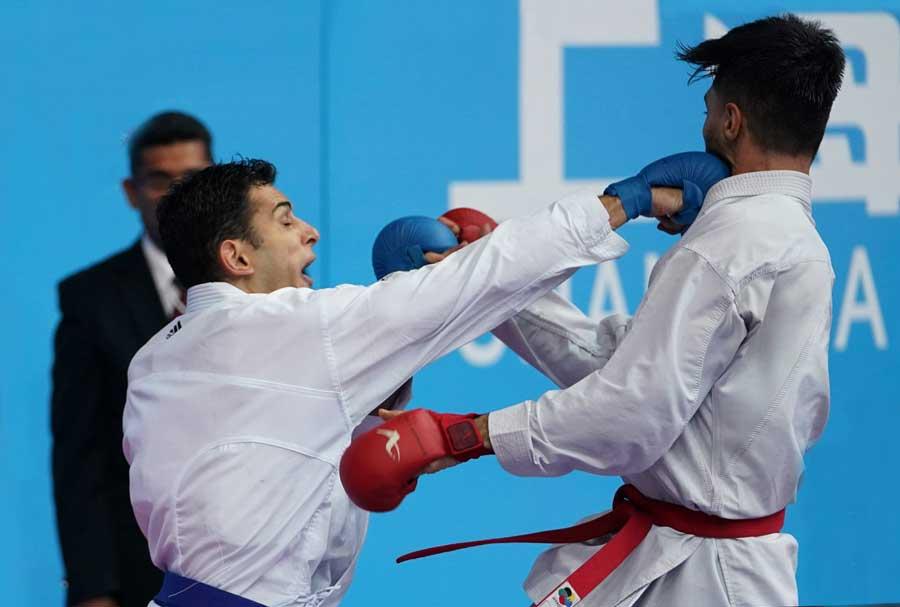 Na China, Vinícius Figueira está na final e Valéria Kumizaki vai disputar o bronze