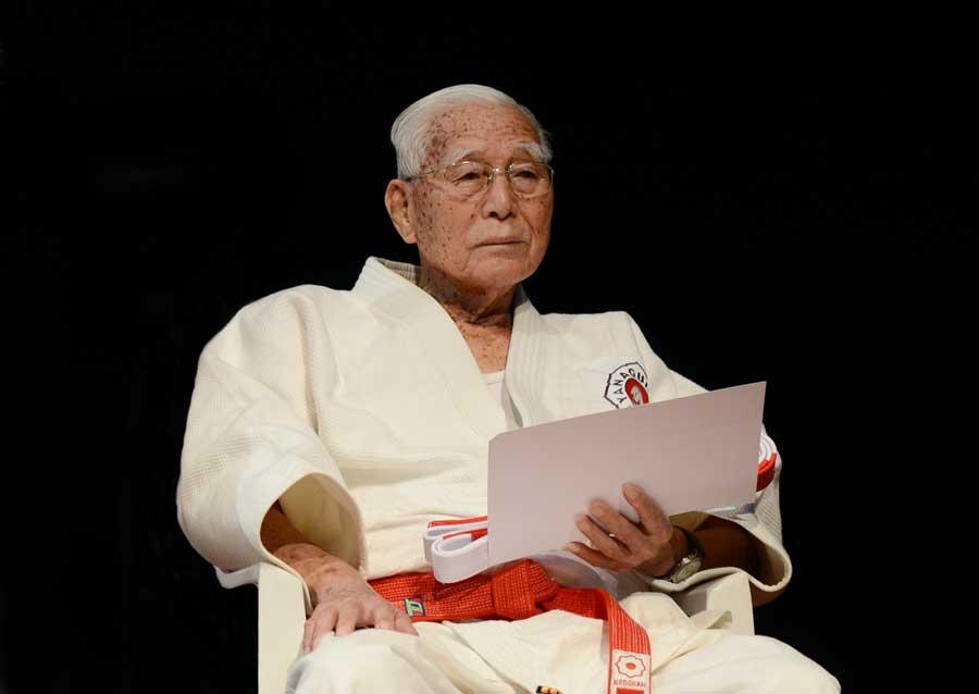 Professor kodansha mais longevo do Brasil, Massaru Yanaguimori (9º dan) comemora 98 anos