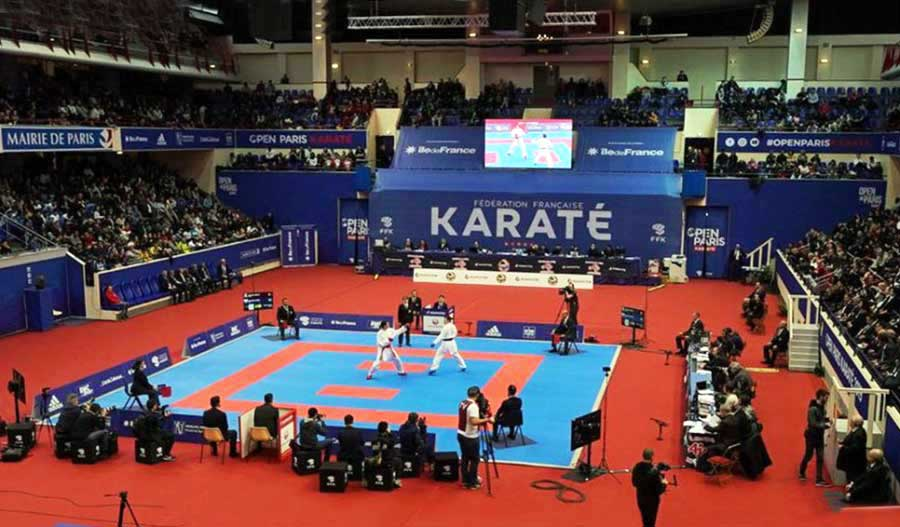 Presidente da WKF promete lutar para manter o karatê nos Jogos Olímpicos de Paris 2024