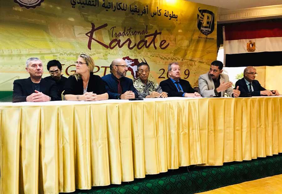 Realizado no Egito, Masters Course deverá alavancar o crescimento da ITKF na África