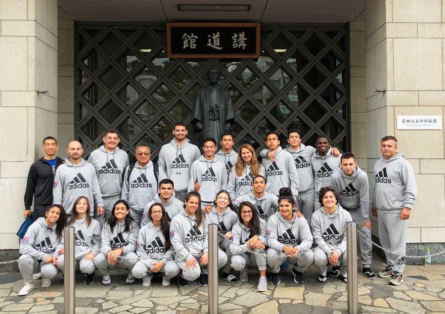 Seleção Paulista sub 18 chega ao Instituto Kodokan