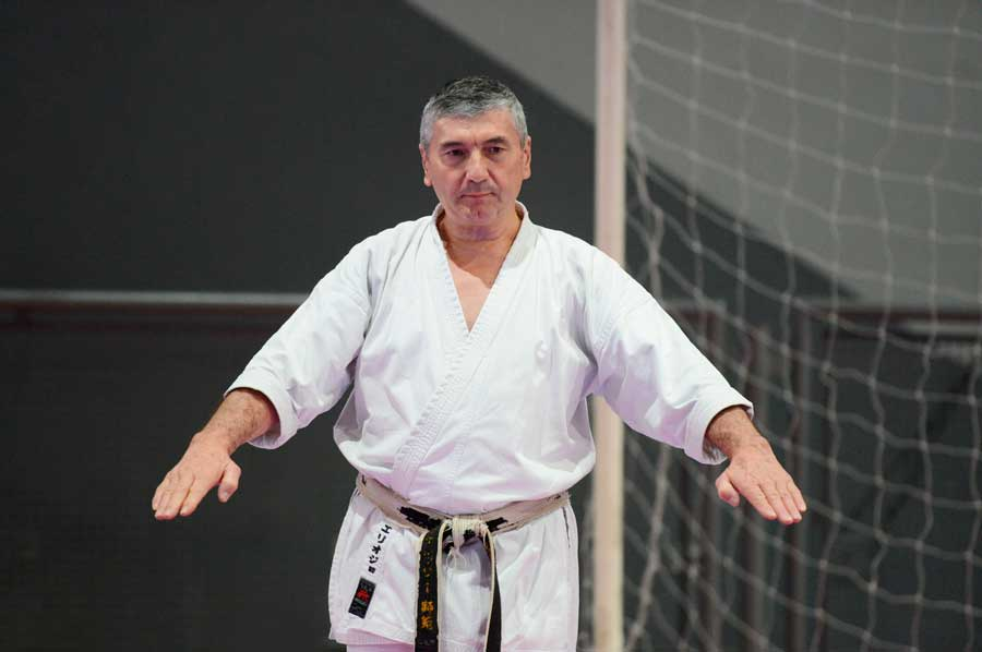 First phase of ITKF judges standardization course was grounded in todome-waza