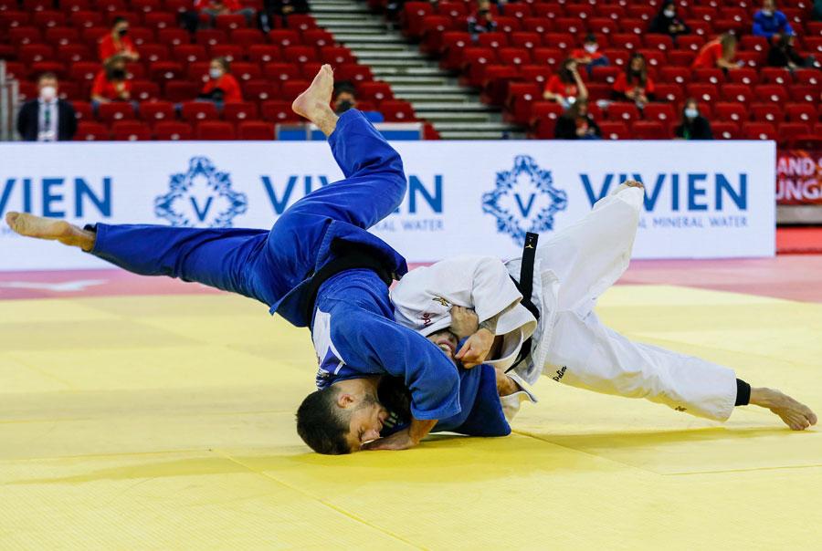 Willian Lima conquista o bronze para o Brasil no primeiro dia do Grand Slam de Budapeste