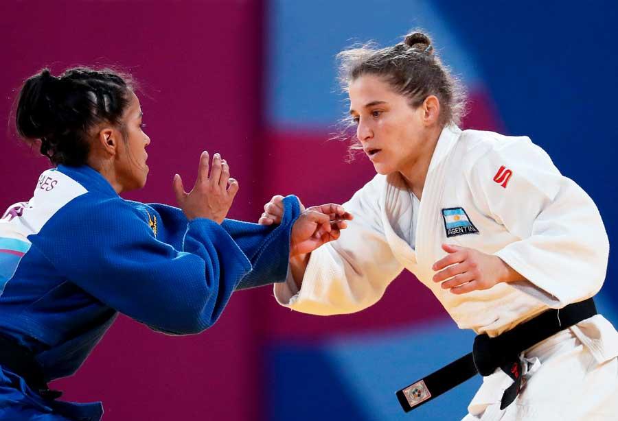 Maria Suelen Altheman e Maria Portela conquistam o ouro no Pan-Americano e o Brasil fica em primeiro no individual