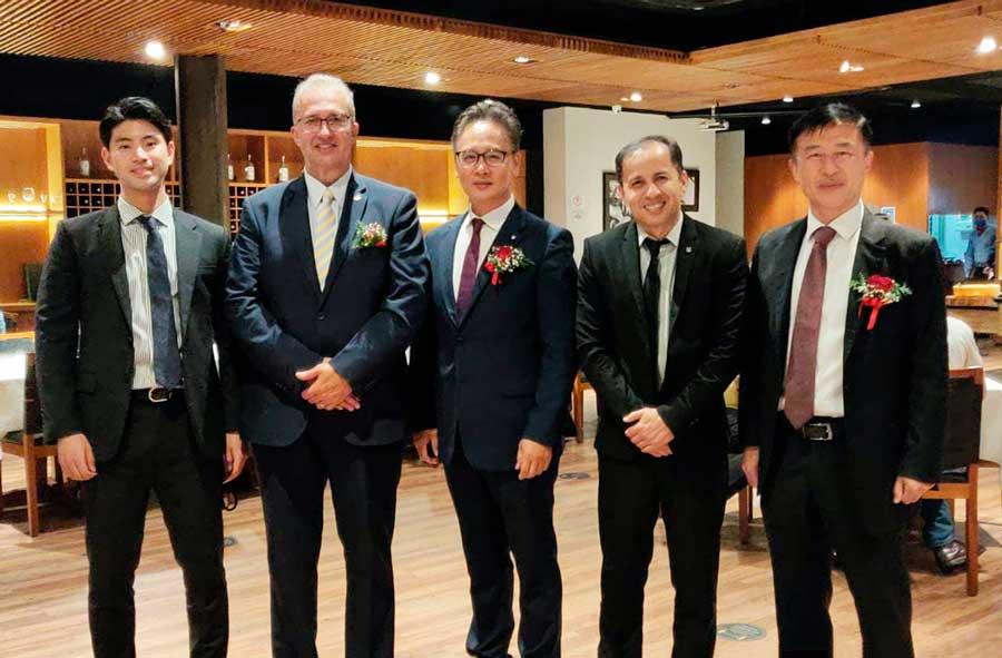 Dirigentes do taekwondo e deputados federais anunciam frente parlamentar pela pacificação das Coreias