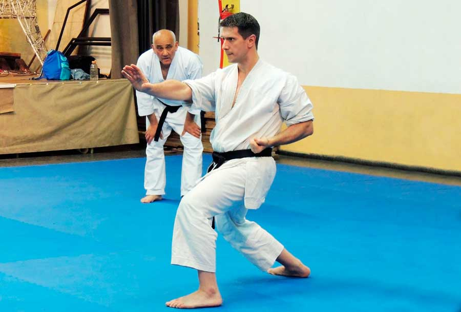 Jorge Crosa works hard on structuring and growing ITKF in Uruguay
