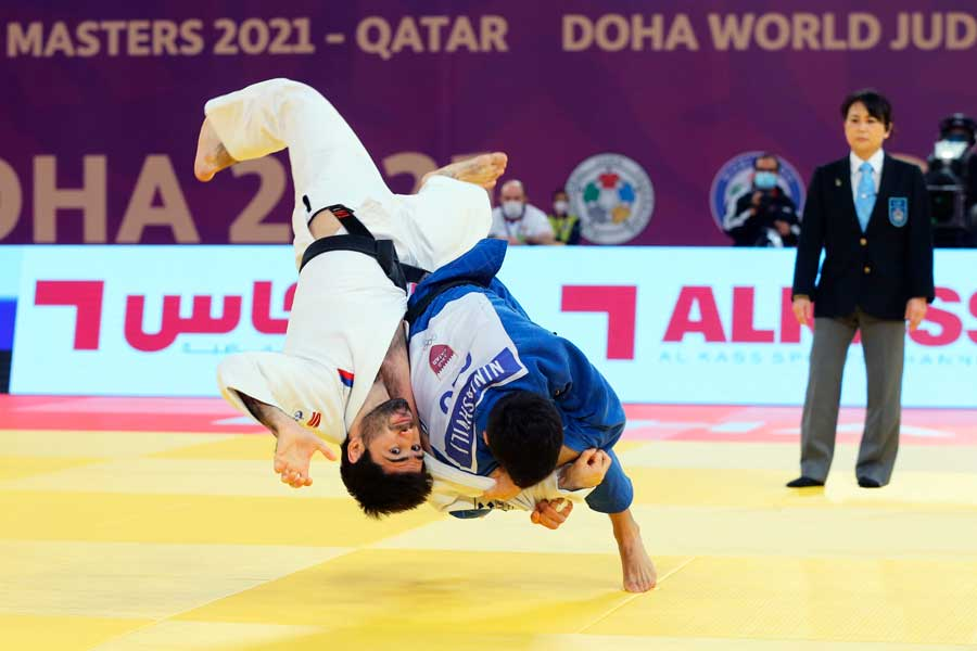 Com desempenho pífio, Brasil fecha o primeiro dia do World Masters de Doha sem pódio