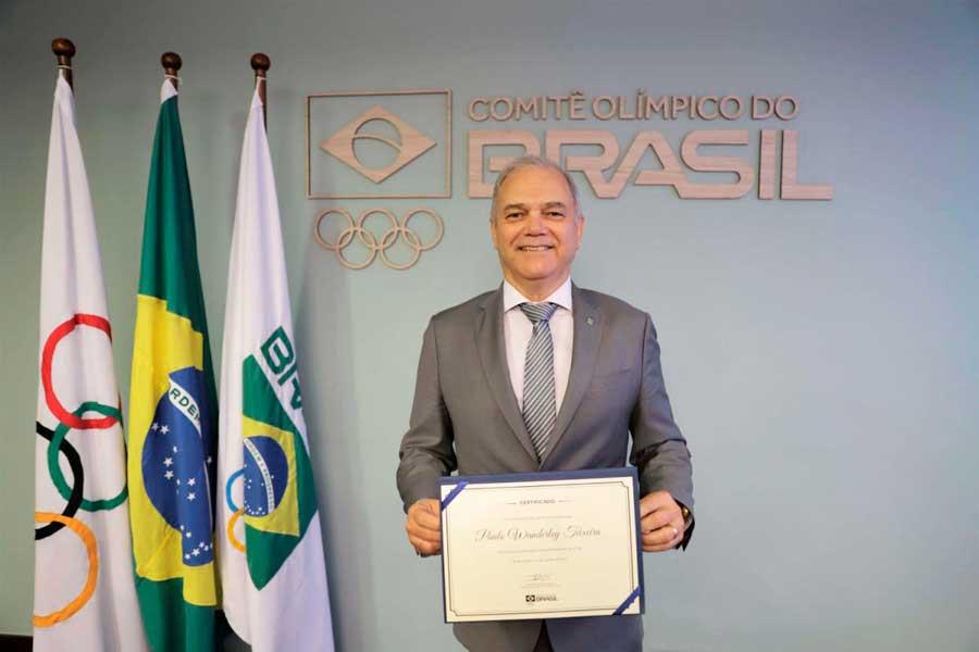 Paulo Wanderley toma posse como presidente e inicia mandato à frente do COB