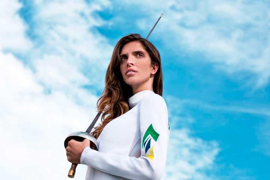 Sem competir em 2020, Nathalie Moellhausen se diz mais motivada para Olimpíadas:
