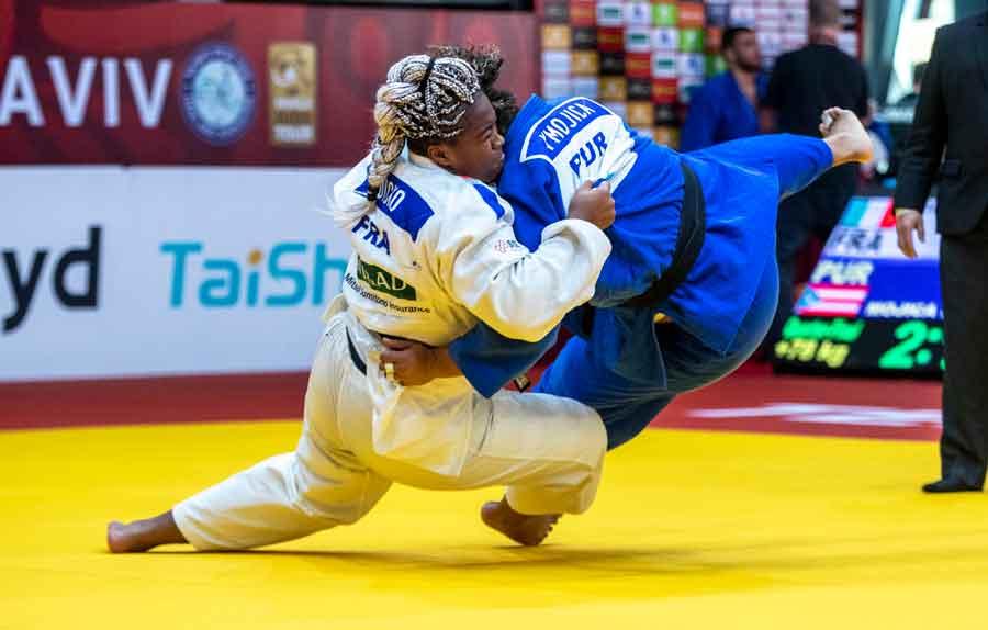 Maria Suelen, do Clube Pinheiros, conquista o bronze e salva o Brasil no Grand Slam de Tel Aviv