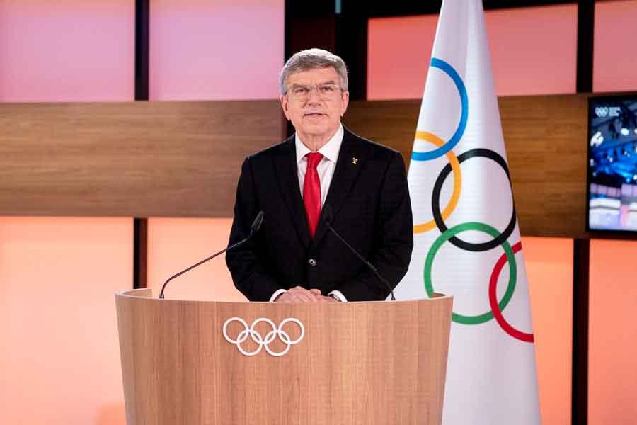 Thomas Bach afirma que China ofereceu vacinas a atletas que vão às Olimpíadas de Tóquio