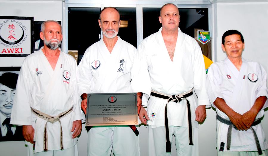 Doação de sede própria perpetua o legado da Wado-Ryu Kii-Kuu-Kai no Brasil