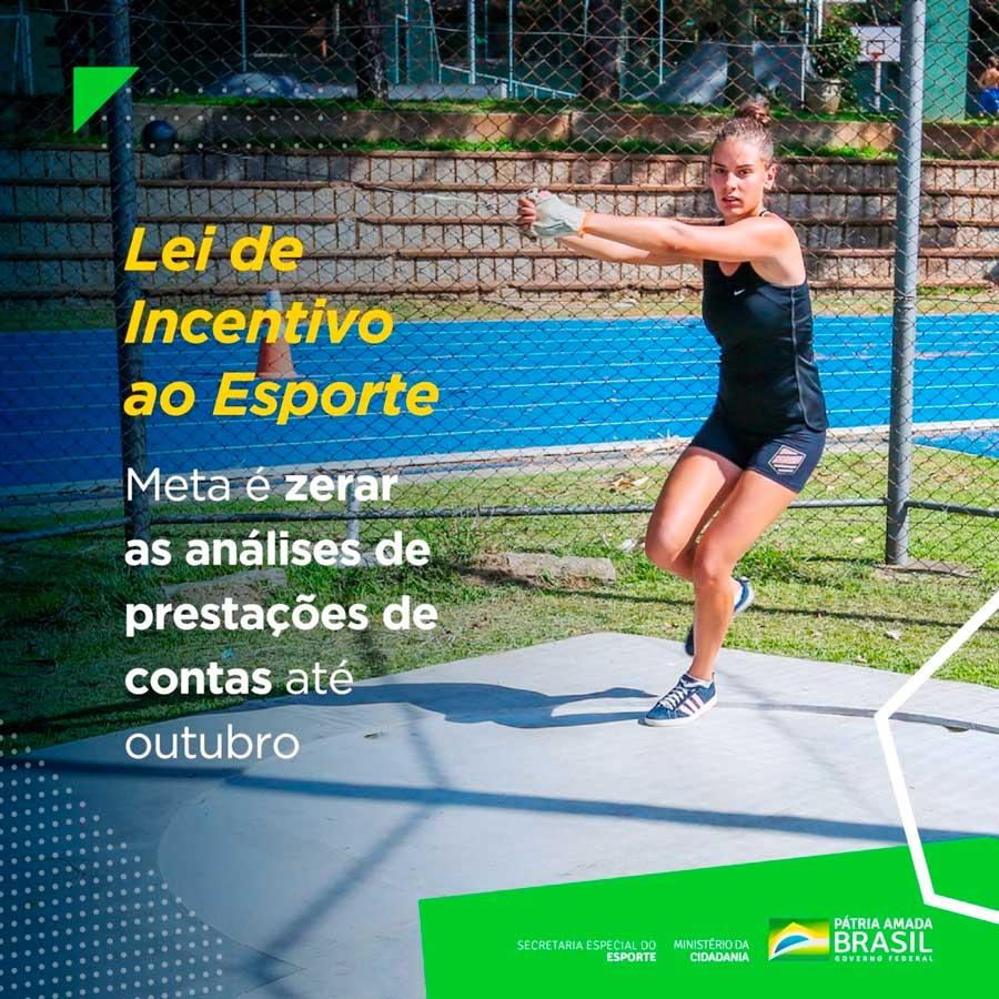 Secretaria Nacional de Incentivo e Fomento ao Esporte planeja zerar passivo de prestação de contas