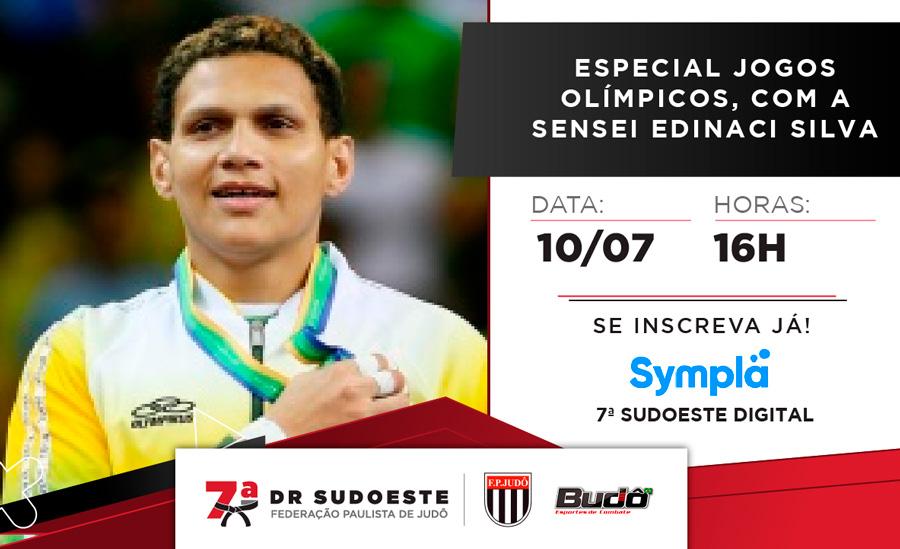 7ª Delegacia Regional Sudoeste faz live sobre Jogos Olímpicos com a sensei Edinanci Silva