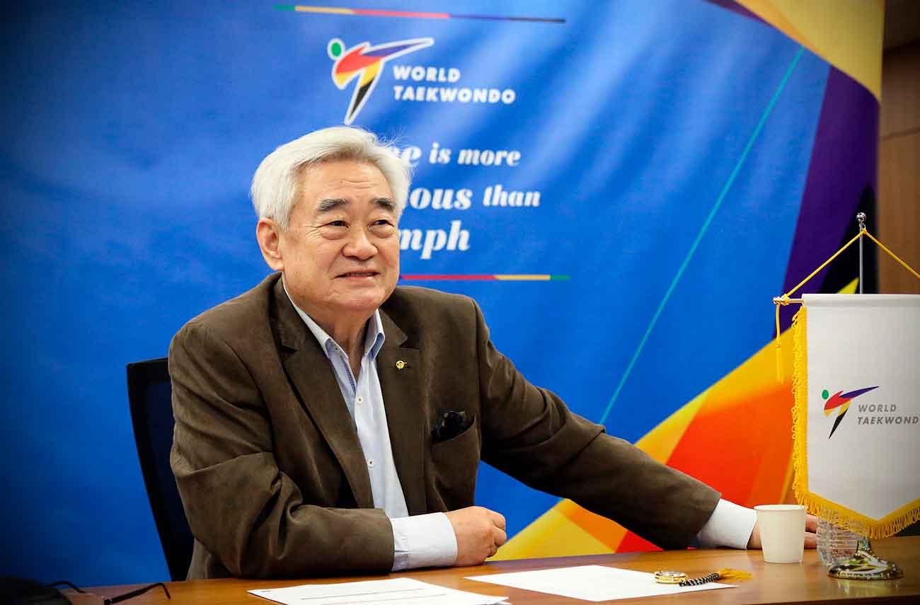 Chungwon Choue será reeleito para o quinto mandato como presidente da World Taekwondo por aclamação