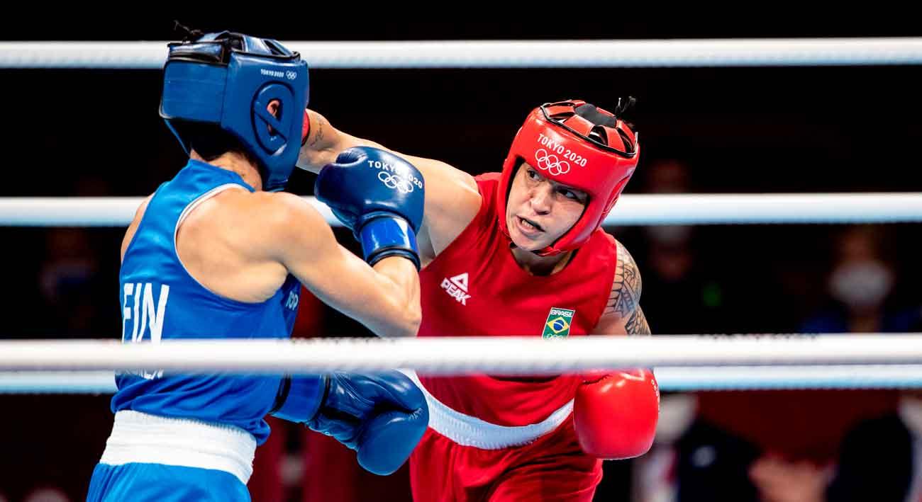 Com um bronze e duas finais já asseguradas, time brasil faz melhor campanha do boxe em olimpíadas