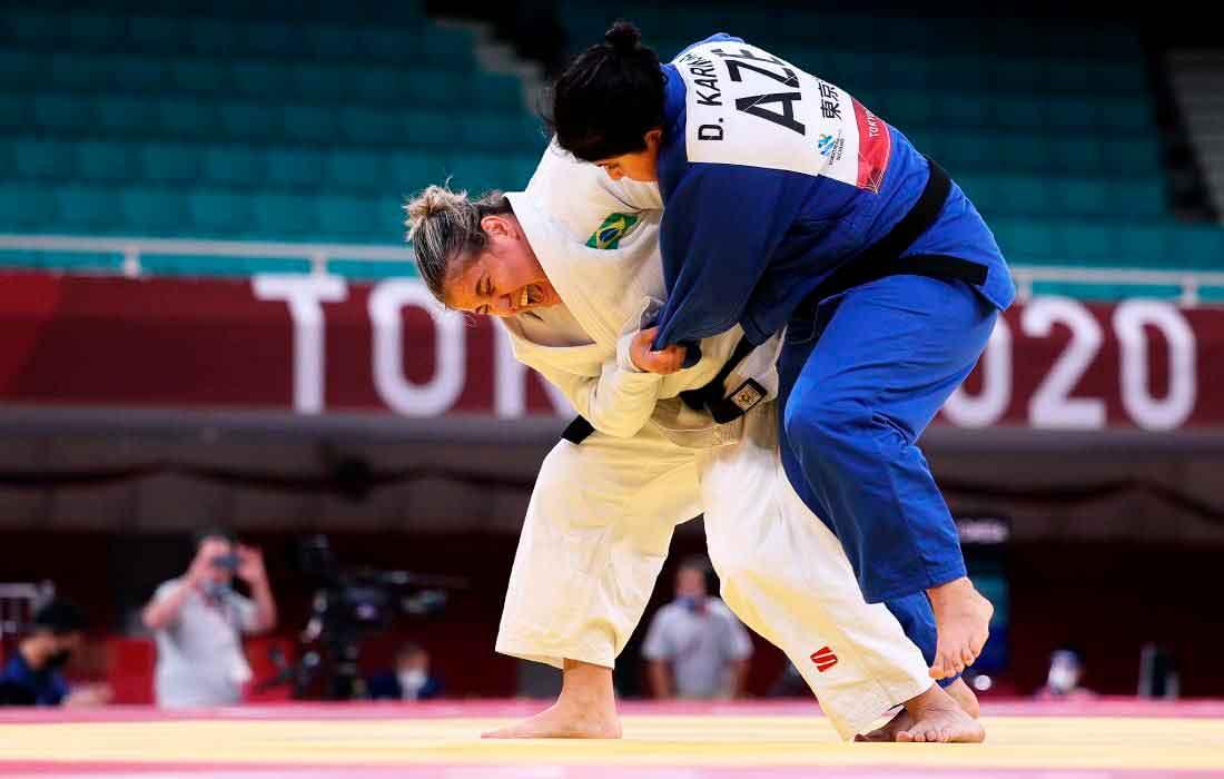Meg Emmerich é bronze e se torna terceira judoca do Brasil medalhista nos Jogos Paralímpicos de Tóquio