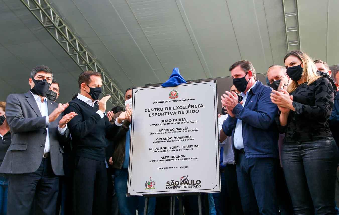 Governo de São Paulo inaugura Centro de Excelência Esportiva de judô e atletismo em São Bernardo do Campo
