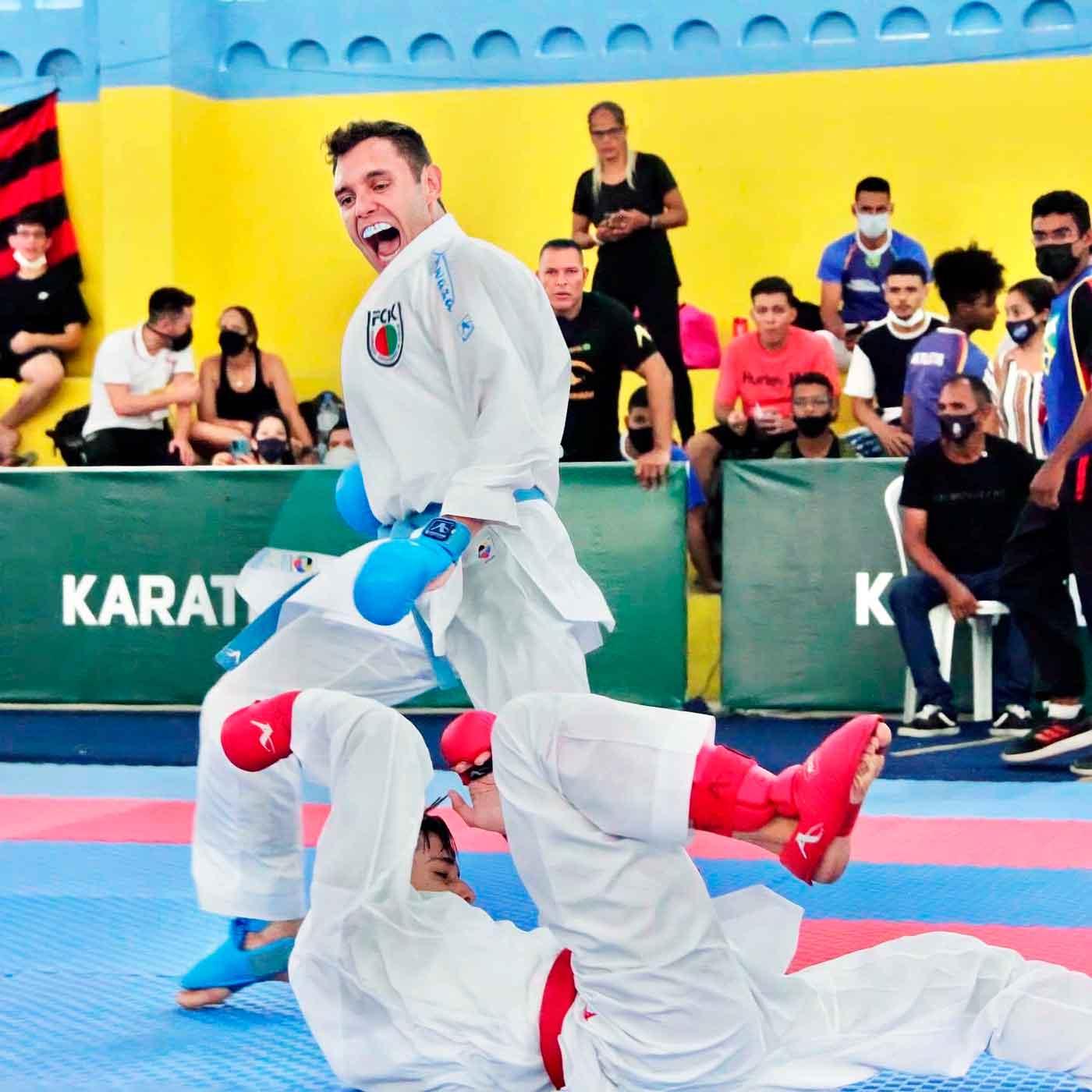 Focando o Mundial de Dubai, Douglas Brose conquista o Campeonato Brasileiro de karatê