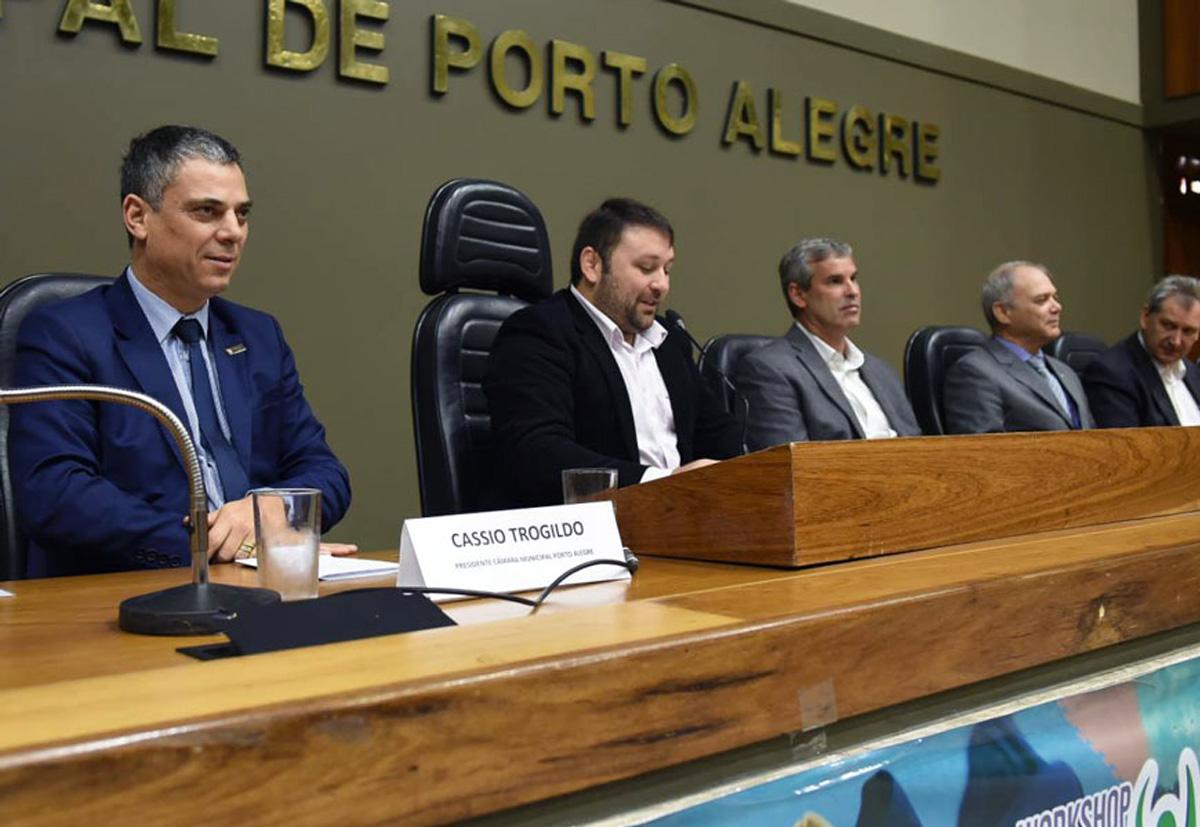 Paulo Wanderley participa de workshop da Lei de Incentivo ao Esporte em Porto Alegre