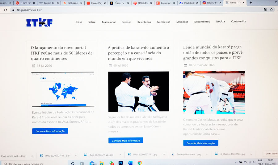 Leaders from several continents positively evaluate the new ITKF portal