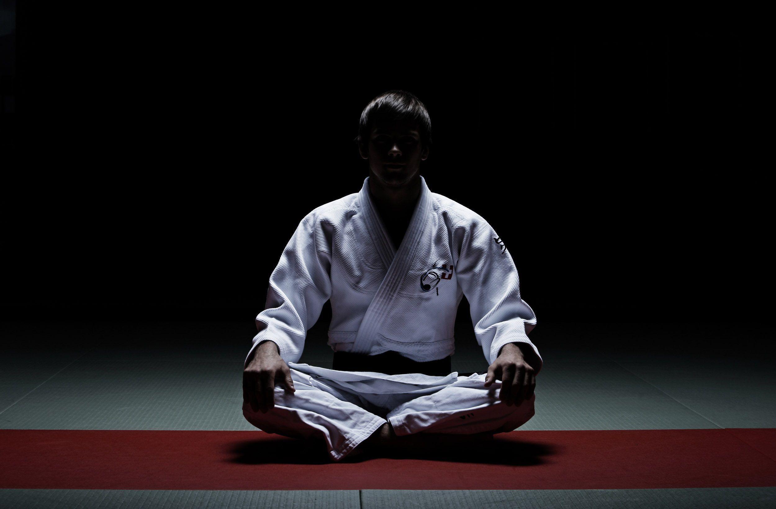 A preparação do atleta de judo veterano para competição