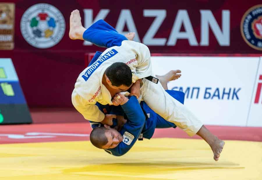 Brasil disputa duas finais, conquista cinco medalhas e obtém a nona colocação no Grand Slam de Kazan