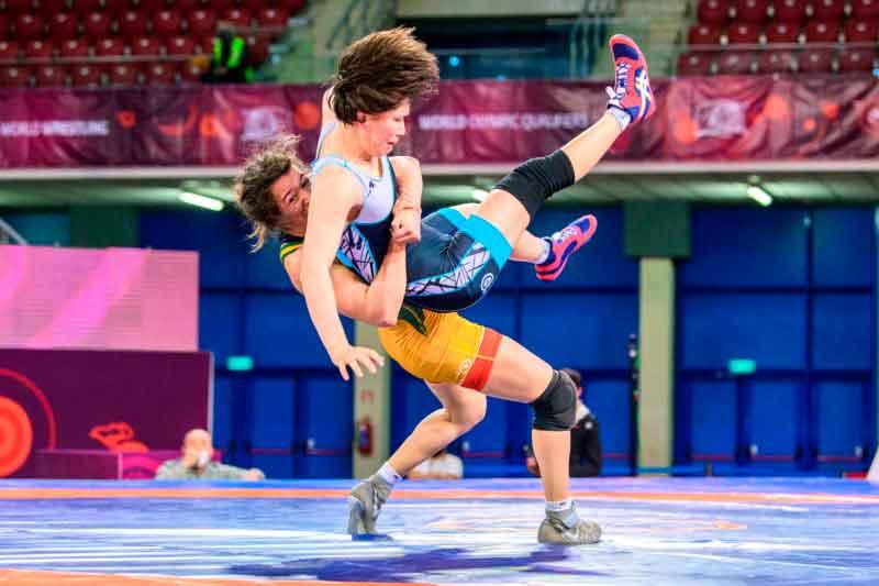 Giullia Penalber disputa hoje a medalha de bronze no Pré-olímpico de Tóquio