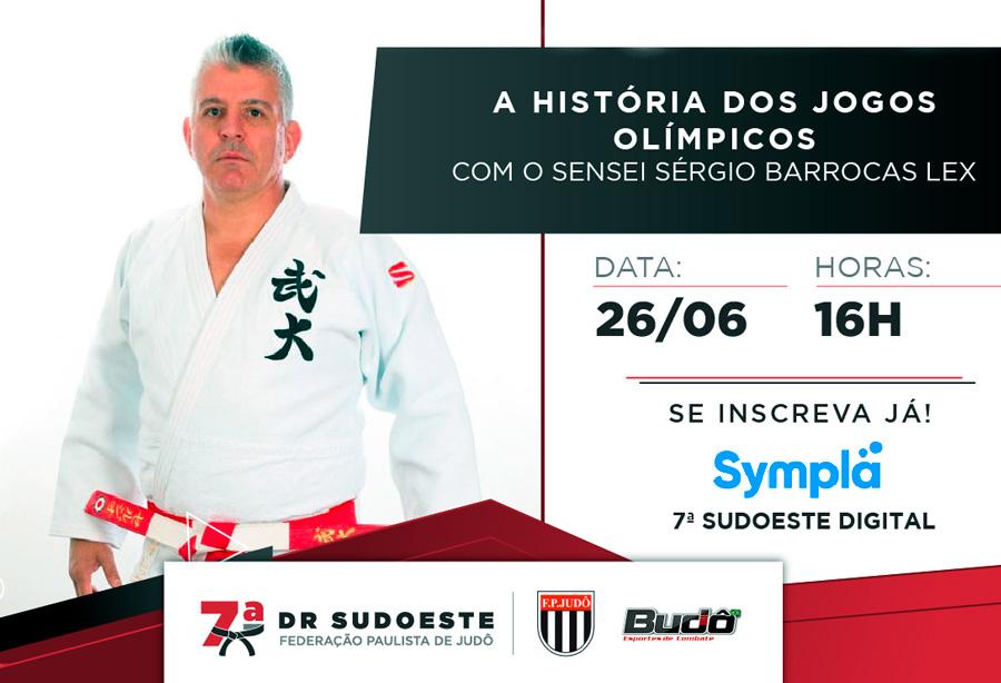 7ª Delegacia Regional Sudoeste fará live sobre a história dos jogos olímpicos