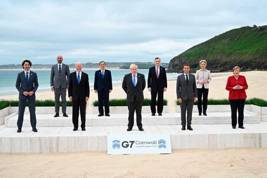 Líderes do G7 reiteram suporte para a realização das Olimpíadas de Tóquio de maneira segura