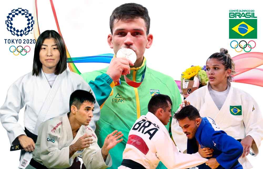Judô brasileiro confirma tradição e assegura medalha em Tóquio