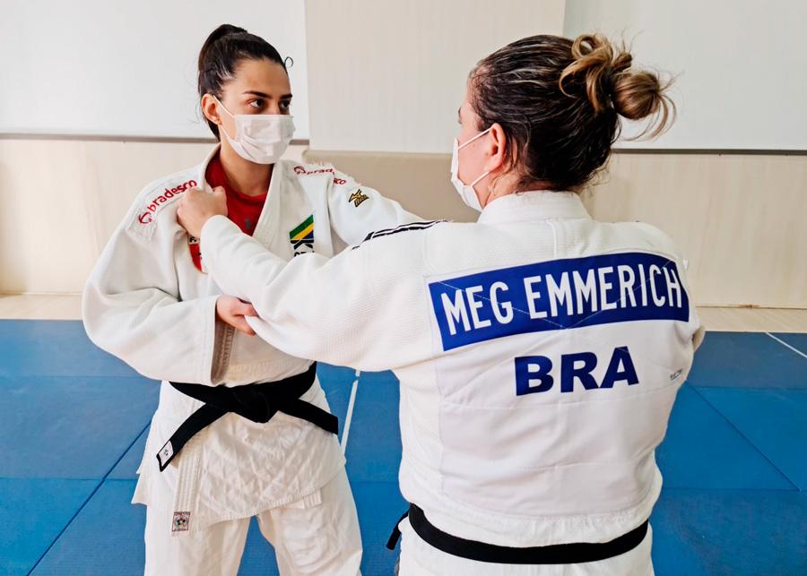 Meg Emmerich é a primeira judoca a representar o Paraná nos Jogos Paralímpicos