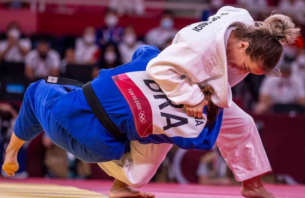 No primeiro dia de disputa, judocas do peso ligeiro passam em branco em Tóquio