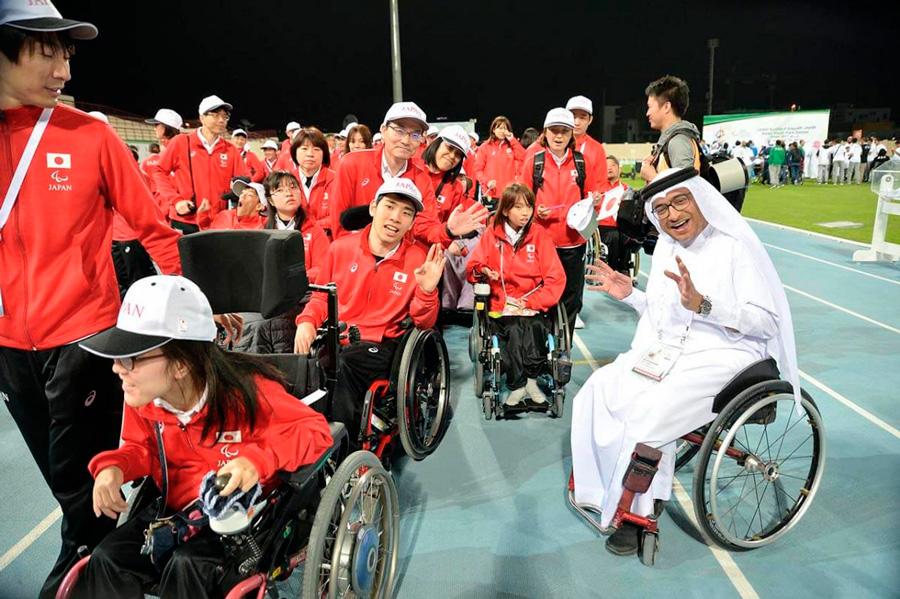 Para Majid Rashed, Tóquio 2020 será um testemunho de coragem e determinação