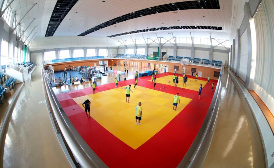 Preparação final para as Olimpíadas é iniciada pela seleção brasileira de judô em Hamamatsu