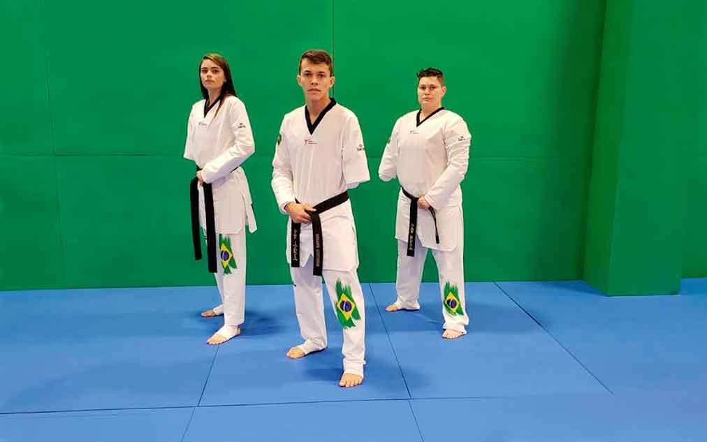Estreante nos Jogos Paralímpicos, seleção de parataekwondo embarca para o Japão nesta segunda-feira